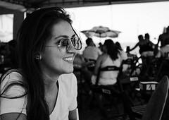 Foto de Caroline Bravim (Sibila Ribeiro) Tags: trip brazil vacation white black beach smile branco brasil br caroline n preto vitória e jardim da brazilian es jd peb bew espíritosanto santo vitoria espirito espiritosanto carolne penha jardimdapenha bravim carolinebravim