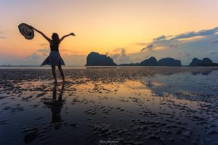 Trang Thailand Palmeng beach
