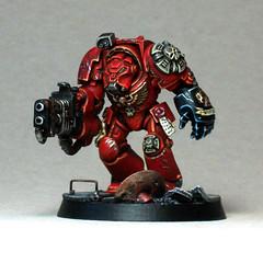 Brother Bartelo (Duca Strige) Tags: infantry blood 40k angels warhammer terminator alphaeus deathstorm