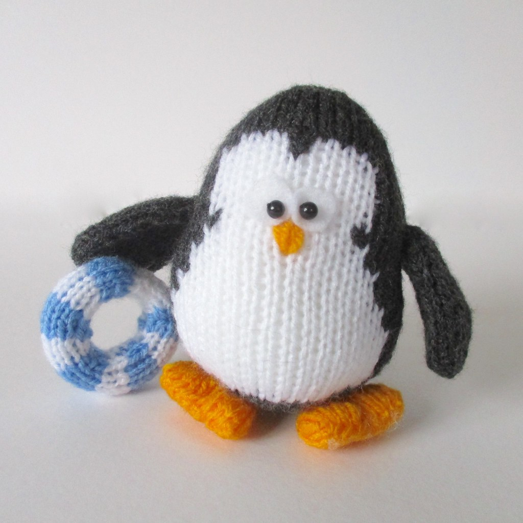 The worlds most recently posted photos of knits and penguins hopkins the penguin knitting patterns by amanda berry tags white amanda black bird bankloansurffo Images
