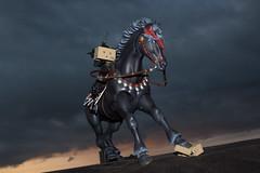 The Headless Swordsman (katsuboy) Tags: karas hokutonoken danbo koukou theheadlesshorseman danboard danbomini theheadlessswordsman