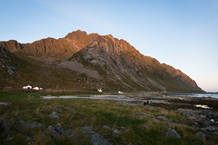 Light at the Top (MrBlackSun) Tags: seascape beach norway sunrise landscape outdoors nikon lofoten myrland d810 nikond810