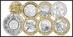 2016 UK Coins (Columbiantony (England,UK)) Tags: world new uk london fire coin war coins great battle worldwarone latest newest hastings ww1 firstworldwar 20p battles 1066 2 williamshakespeare battleofhastings 1 50p greatfireoflondon 1666 2016 newdesign 10p 5