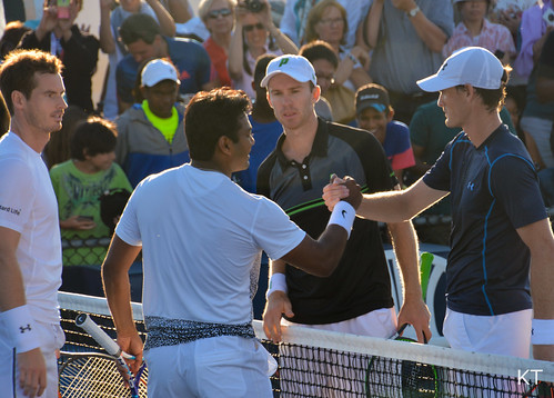 Leander Paes - Murray/Paes & Murray/Peers