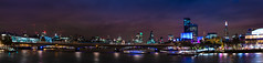 London across the River (Dave Boam) Tags: london londoneye embankment jubileebridge