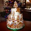 Merry Christmas (Cake Time) Tags: christmas family gingerbread royalicing celebrationcake festivetreats richfruitcake
