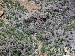 Black Canyon Formation (Paleoproterozoic, 1.759 Ga; Cold Shivers Point, Columbus Canyon, Colorado National Monument, Colorado, USA) 5 (James St. John) Tags: columbus black cold monument rock point colorado rocks plateau canyon formation national shivers schist precambrian metamorphic gneiss paleoproterozoic proterozoic