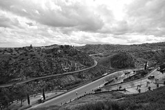 Toledo (lukedrich_photography) Tags: panorama espaa history canon river spain europa europe european culture wideangle unesco worldheritagesite espana toledo valley waterway westerneurope tagusriver       kingdomofspain  t1i canont1i
