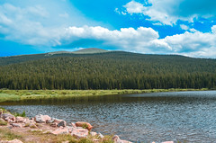 Echo Lake 1 (joshuaXconlee) Tags: mountain nature forest colorado echolake mtevans