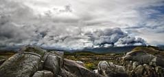kabelvag 3d (Bilderschreiber) Tags: mountains norway clouds islands norge rocks norwegen wolken berge lofoten felsen inseln kabelvag