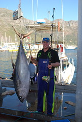 Justin Von Bonde in Cape Town, South Africa #fishing #fishinglife #catchoftheday #capetown #seafood #fishingboat #fishingfamily #Stormline #sportfishing #southafrica