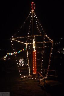 Mousehole Christmas Lights 2015