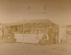Hubers' Lunches, Tea, & Coffee Stand, 19th c