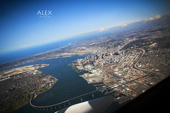 San Diego, CA (Alex G. Photographer) Tags: california sandiego coronadobridge downtownsandiego sandiegocalifornia canoneos60d alexgphotographer photoshopcc lightroomcc