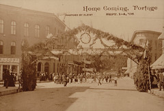 Parade, Home Coming, 9-1908