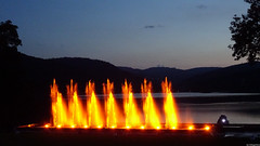 Water Play Burning Titisee (VillageHero) Tags: flickr simplybeautiful