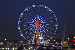 2016.01.02.018 PARIS - Place de la Concorde - La grande roue et l'Obélisque (alainmichot93 (Bonjour à tous - Hello everyone)) Tags: paris france seine place iledefrance placedelaconcorde roue obélisque grandroue 2016