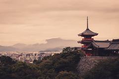 Kyoto Kiyomizu-dera (Bunaro) Tags: kyoto kansai japan asia kiyomizu dera buddhist temple landscape cityscape sunset canon 70200