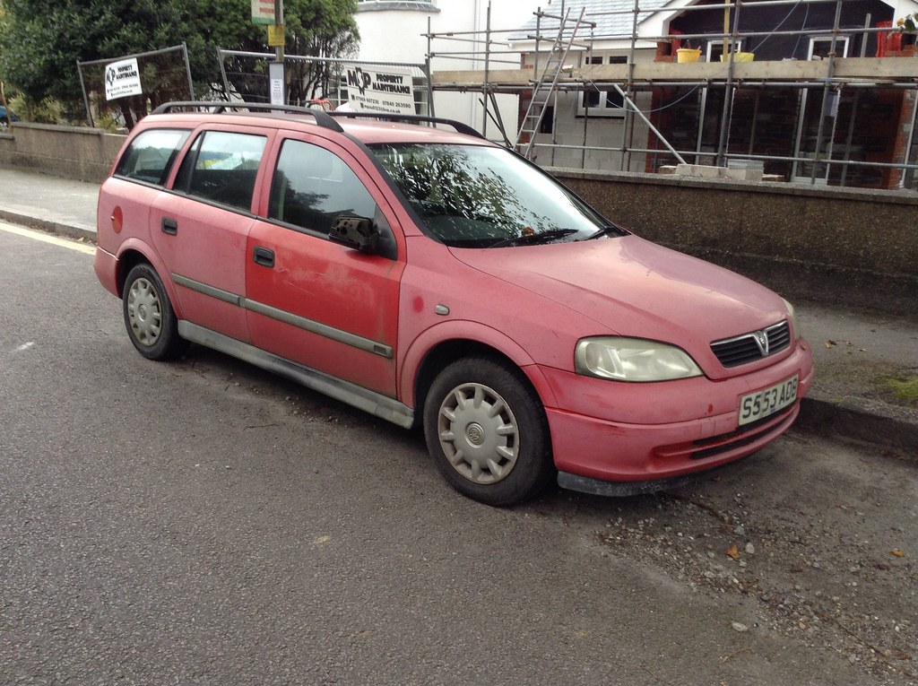 Astra Red Paint Faded