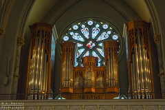 Pipe Organ (Wayne Daniels) Tags: catholic church classical ornate religion religious icon iconography stainedglass