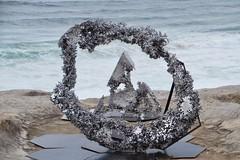Chaos Theory - Louis Pratt (NSW) (Val in Sydney) Tags: sculpture sculpturebythesea australia australie nsw sxsbondi