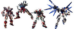 LEGO Gundam (demon14082001) Tags: lego gundam mobile suit seed moc creation perfect grade robot mecha destiny nn trng justice x09a x10a zgmf freedom mbf gat x105 p02 astray strike prototype