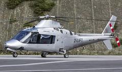 2-LIFT Agusta A109A @ Castle Air Charters Ltd, Liskeard, Cornwall. (Sw Aviation) Tags: 2lift agusta a109a castle air charters ltd liskeard cornwall horningtops heliport helicopter helipad trebrown