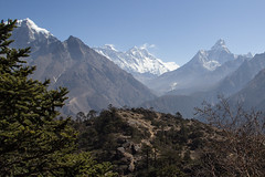 Everest view (D A Scott) Tags: everest base camp goo lakes trek nepal asia himalayas mountains