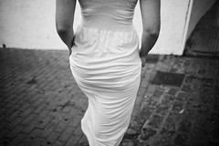 portugal 2016 (SimonSawSunlight) Tags: black white documentary photography portugal spain 2016 ayamonte dress street 35mm f2