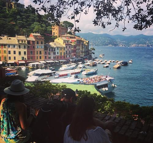 Enjoying the view #portofino #italy
