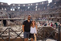 IMG_6735 (Eric.Burniche) Tags: colosseum flavianamphitheatre colosseo anfiteatroflavio roman rome roma romaitaly romeitaly italy italia ancient ancientrome travel ruins