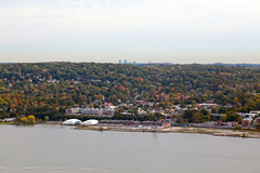 IMG_9486 (dougschneiderphoto) Tags: fall autumn usa ny newyork westchester county view vista rivertowns hudson river across hastingsonhudson hastings waterfront village palisadesinterstatepark statelinelookout building52 bp arco factory brownfield building 52 anacondawireandcablecompany anaconda