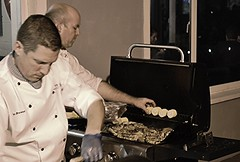 Your job; my job.. (Michael C. Hall) Tags: cooks chef chefs busy working grill food cooking