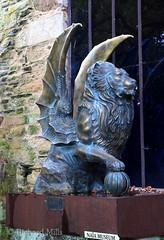 France - October 2016 (Richard Mills) Tags: statue lion winged wingedlion