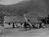 Gap of Dunloe, Mrs. Moriarty's, Killarney, Co. Kerry (National Library of Ireland on The Commons) Tags: lawrenceroyals robertfrench williamlawrence lawrencecollection lawrencephotographicstudio thelawrencephotographcollection glassnegative nationallibraryofireland gapofdunloe killarney cokerry ireland cottage thatchedroof thatch sidecar lady hat moriarty dunloe tourists daytrippers locationidentified explore