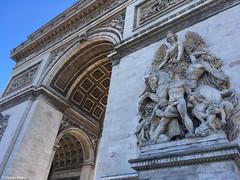 Angle 1 sculpt Arc de Triomple (alexandrarougeron) Tags: sculpture capital ville paris triomphe arc arcdetriomphe