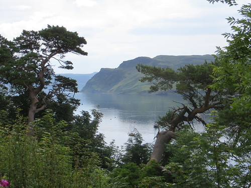 Loch Portree, île de Skye, Ross and Cromarty, Highland, Ecosse, Royaume-Uni