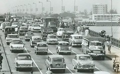 1963 (scouse73) Tags: nigeria lagos traffic bedford ford opel mini vanguard rover land hillman vw