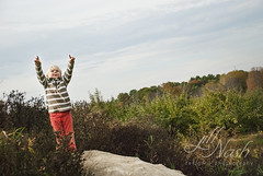 """I did it!"" (grilljam) Tags: autumn october2016 rockyridgeorchard applepicking ewan 7yrs seamus 4yrs"