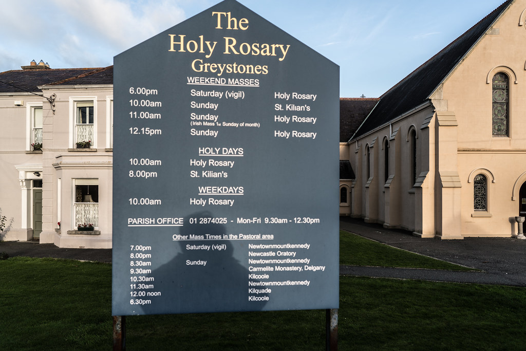 CHURCH OF THE HOLY ROSARY [GREYSTONES IN COUNTY WICKLOW]-121941