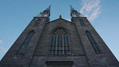 Silver Spires (anthony_wan) Tags: notredame notre dame cathedral basilica ottawa spire twin silver architecture neogothic neoclassical gothicrevival church nikon d5200 tokinaaf1120mmf28 ontario canada