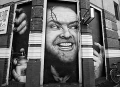 Berlin art (joshjones776) Tags: jacknicholson kreuzberg berlin travel wideangle tokina1116 d7100 mynikonlife nikon streetart blackandwhite white black graffiti art