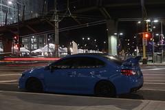 IMG_2229 (86Reverend) Tags: 2016 16 subaru wrx sti serieshyperblue series hyper blue david higgins craig drew srt usa rally city urban minnesota minneapolis night