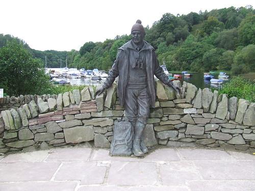 2016 # 73, Tom Weir Statue, Balmaha, Stirling.
