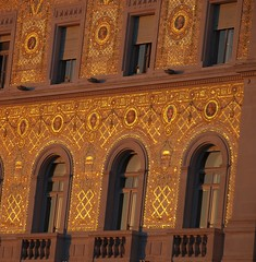 Trieste - Where Beautiful Architecture Can Sometimes Turn into Gold! (antonychammond) Tags: trieste architecture gold sunlight windows balconies italy friuliveneziagiuliaandtriesteprovince habsburgmonarchy austrohungarianempire anticando saariysqualitypictures contactgroups autofocus