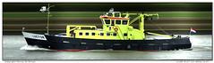 Luctor (Morthole) Tags: slitscan ship boat schip boot barge binnenvaart schiff rheinschiff luctor bulk vrachtschip