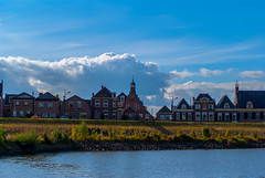 Skyline (Eduard van Bergen) Tags: termei zederik tienhoven gemeente congregation sluis lek rijn rhine stadje historic historian authorities old ancient antique vintage people town hamlet buurtschap dike river rivier houses polder land time dijk dutch holland niederlande netherlands pays bas lekdijk hoogewaard broek lakerveld waal langerak nieuwpoort outdoor hubbie family children married man woman child girl boy life living apron home homes water architecture building bell tower hall city rooftops sky clouds skyline riverbank