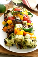 grilled cilantro lim (alaridesign) Tags: grilled cilantro lime chicken skewers