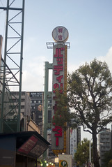 L1010154c (haru__q) Tags: leica m8 leitz summicron batting center    sign neon