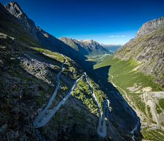 Trollstigen, Mre og Romsdal, Norge (North Face) Tags: norwegen norway norge road mountain mountains sky panorama steep serpentines strasse berge nature landscape summer canon eos 5d mark iii 5d3 24105l